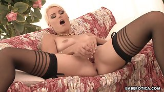 Masturbation session of Izzy Delphine looks fuc
