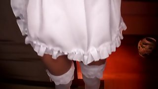 Tiny Japanese Maid Wide Bigtits Pussyfucked