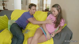 Skinny teen girl first sodomy act regarding luring act brother