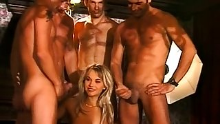Let horny big special wife gangbang
