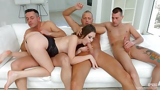 Alessandra Amore needs on every side than one dick to get pleased