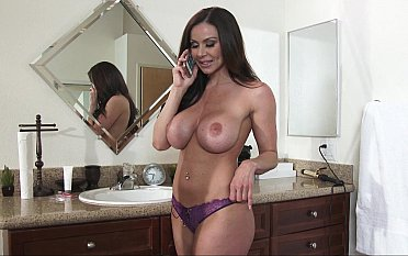 Lovely mom shows their way massive melons