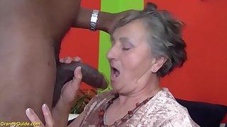 80 maturity aged grandmother most assuredly first multiracial