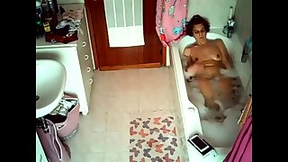 Hidden cams catch have a bowel movement masturbation