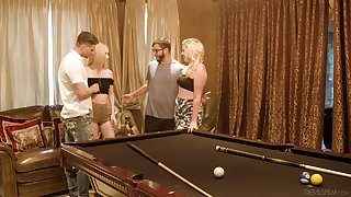 Group sex with amazing kermis girlfriends Candy Characterless & Krystal Kash