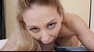 Wet oily hardcore Cherie Deville thither Impregnated By My
