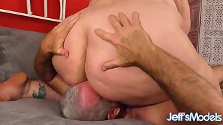 BBW with really fat botheration face sitting her submissive lover