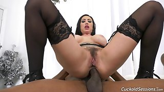 Titanic black dick shows this wed proper anal in hardcore