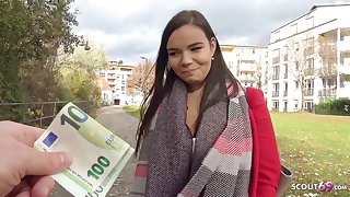 German Scout - Big Knockers 18-Year-Old Sofie Talk To Make Love On Street - amateurs