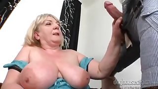 Sbbw Grandma Ilona Loves Humping Younger - grandma